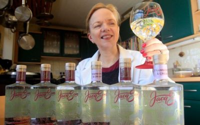 Read all about Jacqson Gin as published in The Huddersfield Daily Examiner